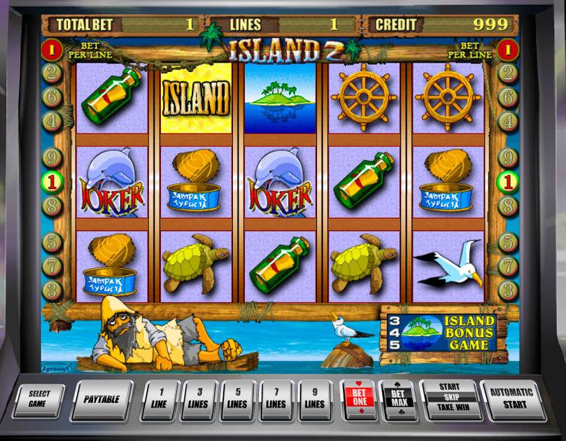 Цены игровые автоматы island 2